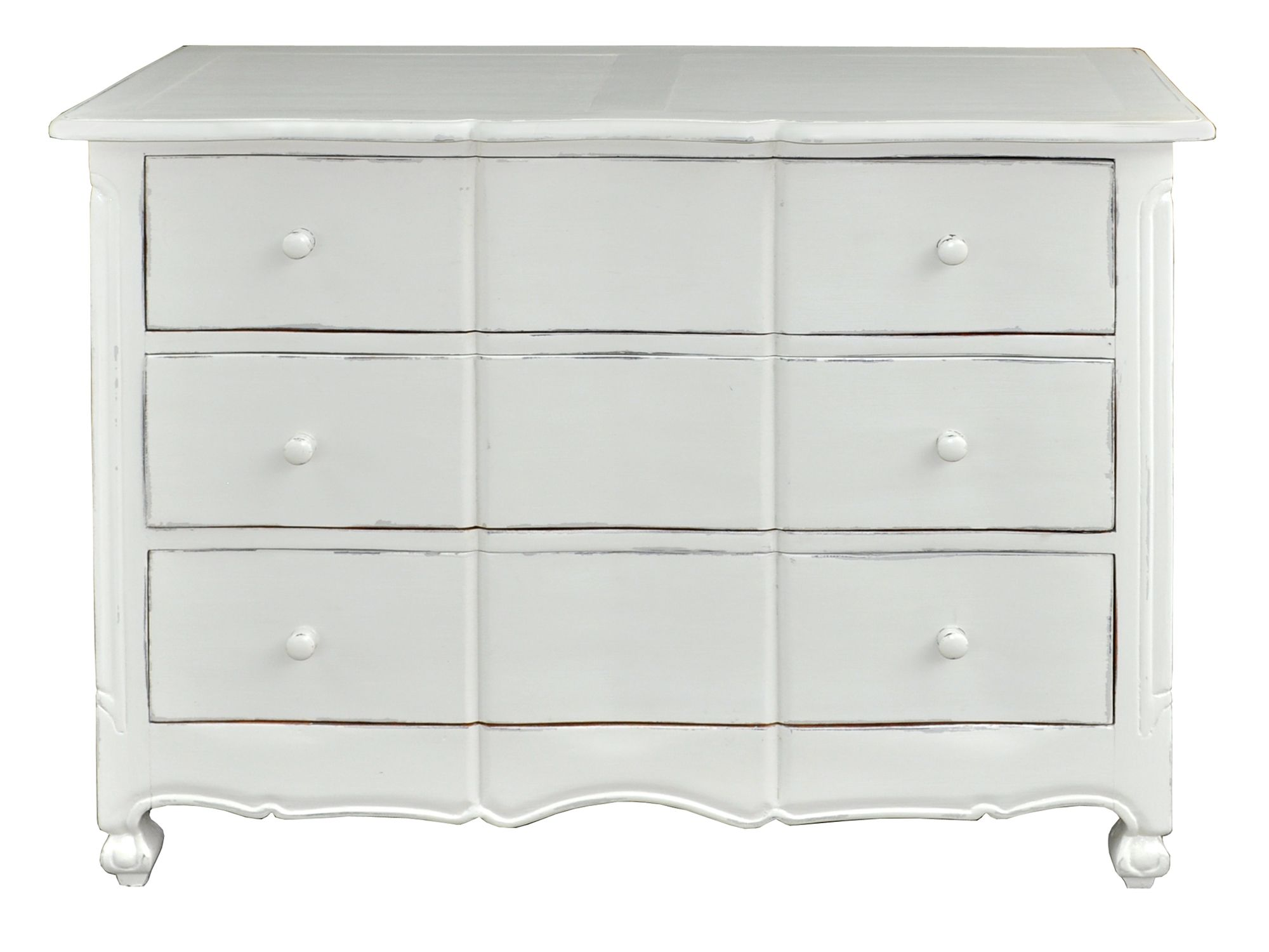 Meadow 3 drawer dresser light grey