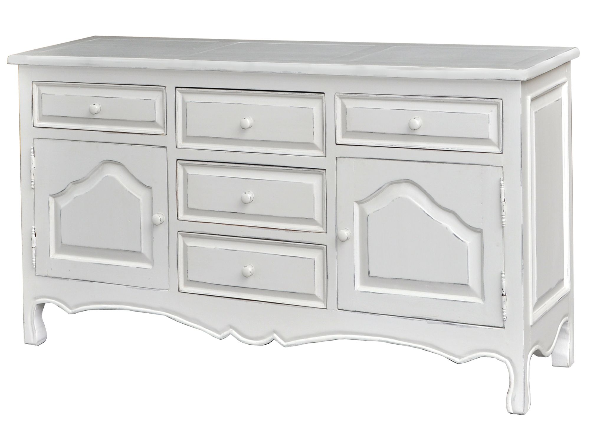 Meadow buffet light sideboard dove grey