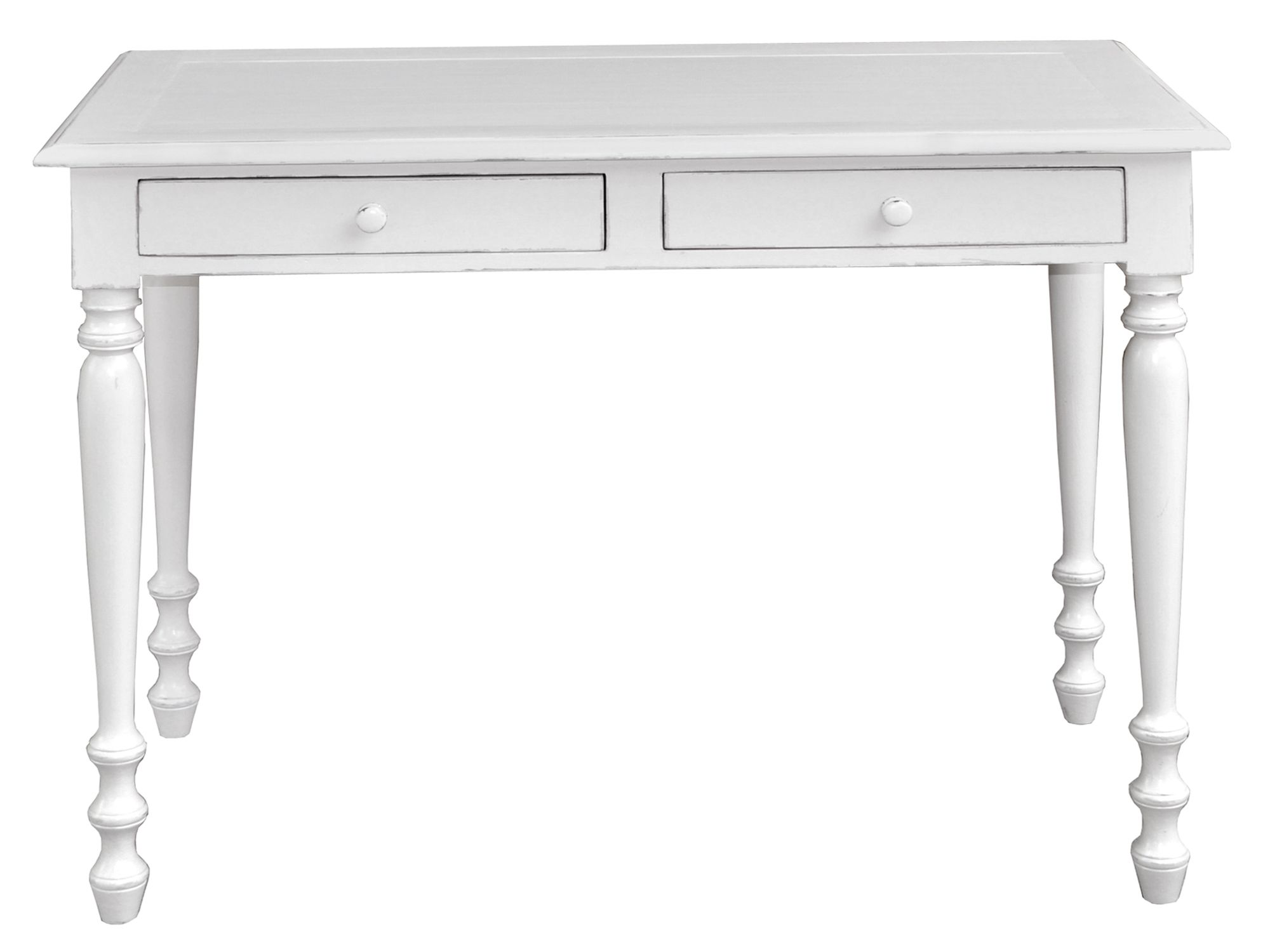 Meadow 2 drawer sofa table light grey
