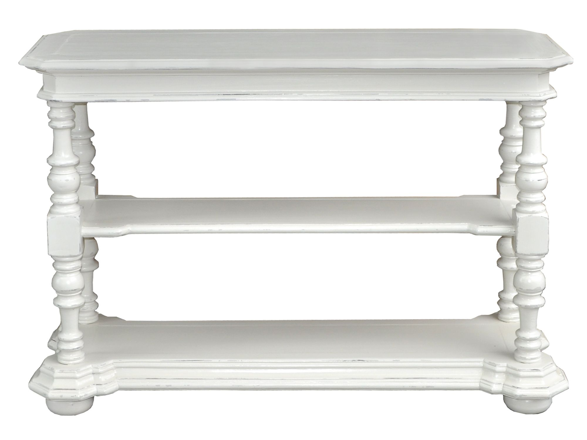 Meadow console table light grey