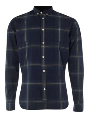 Paul Smith Jeans Indigo checked shirt