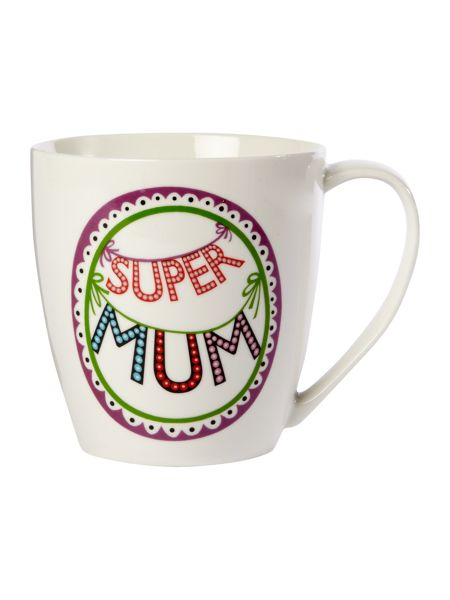 Linea By Mary Fellows Super Mum mug
