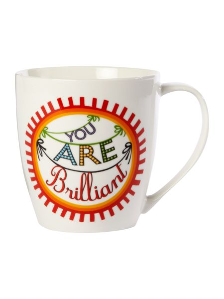 Linea By Mary Fellows You Are Brilliant mug