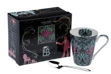 Llewelyn Bowen bone china mug & spoon Glamazon