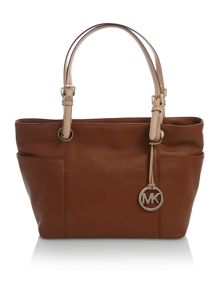 Michael Kors Jet set top zip tote bag