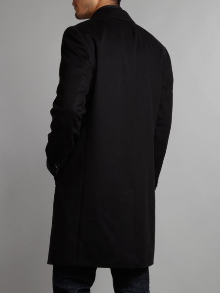 Hugo Boss Formal Basic Wool Cashmere Overcoat