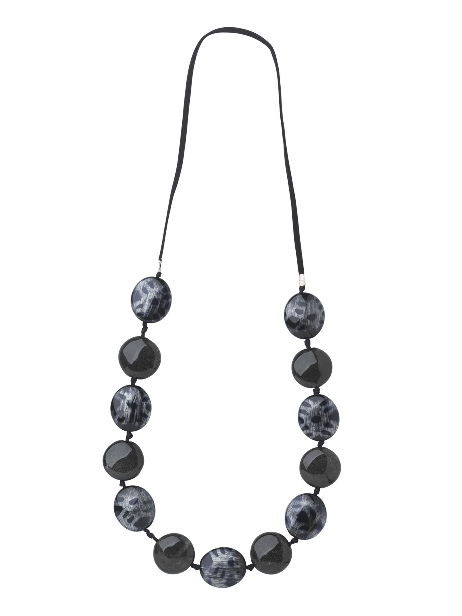Phase Eight Spotty pebble necklace