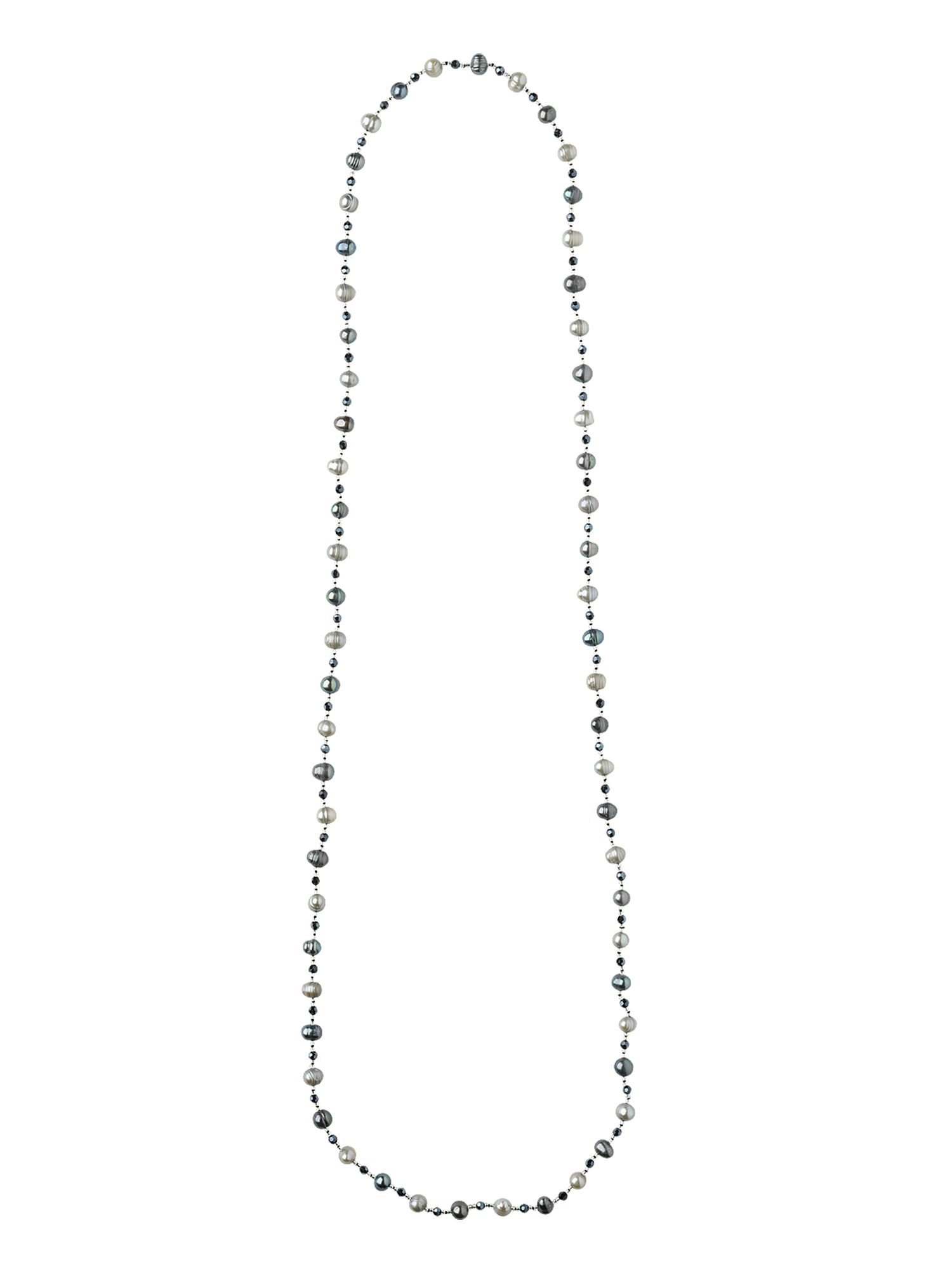 Phase Eight Long pearl necklace