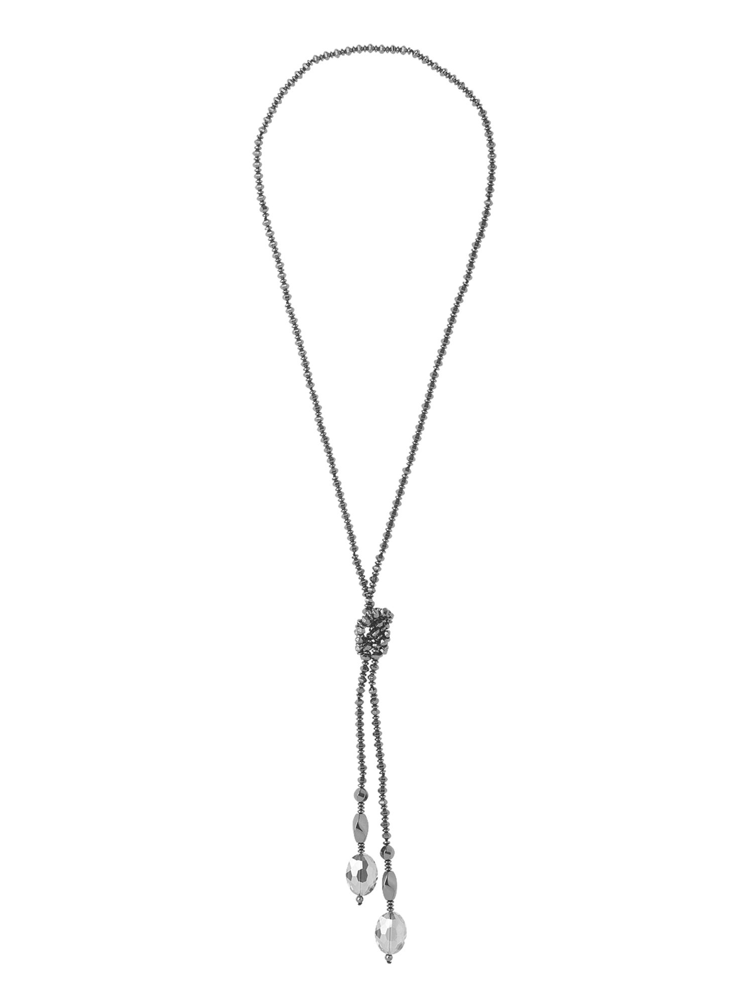 Phase Eight Delta lariat necklace