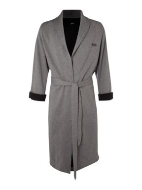 Hugo Boss Loungwear robe with shawl collar