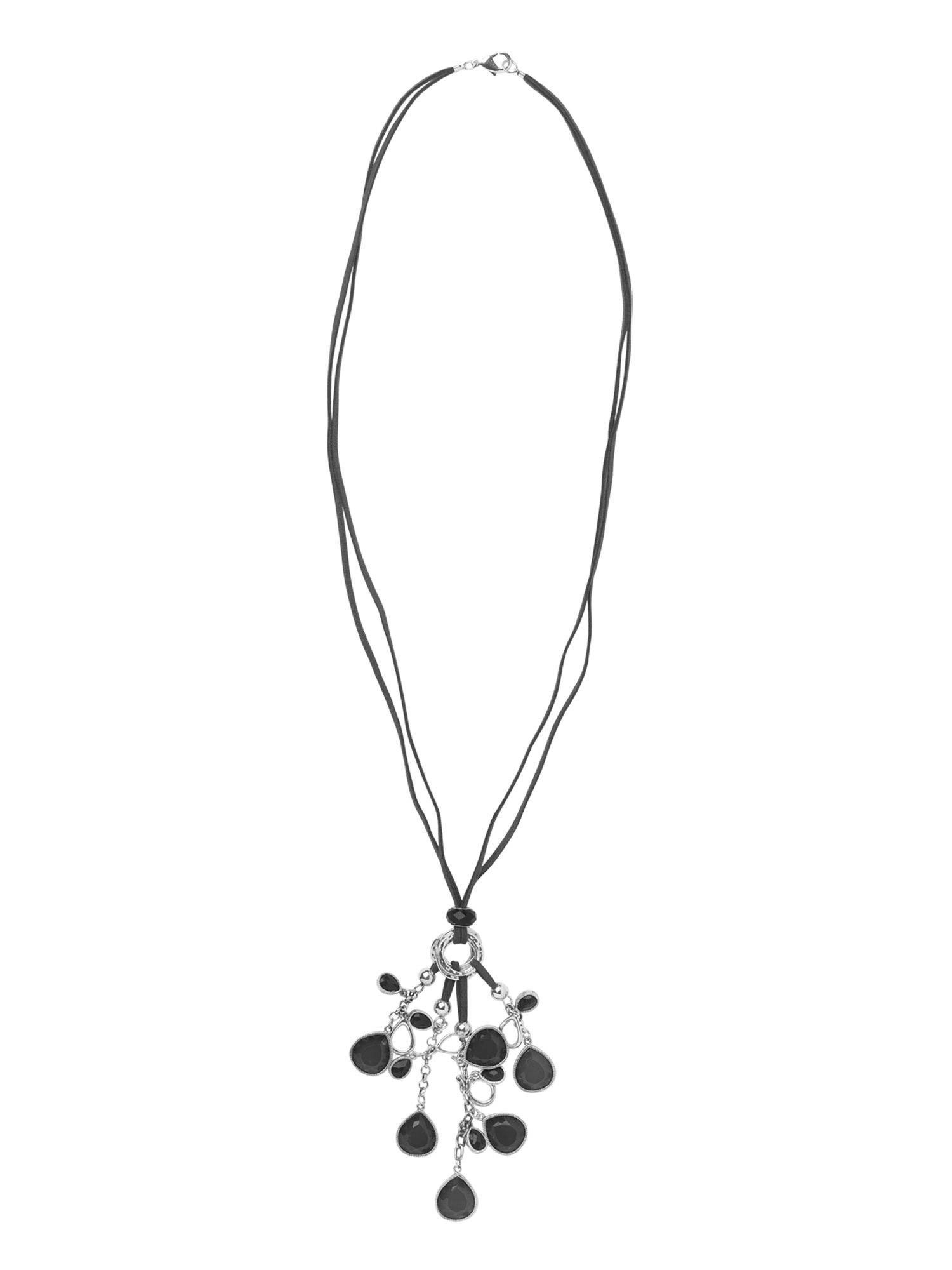 Phase Eight Dangle nugget necklace