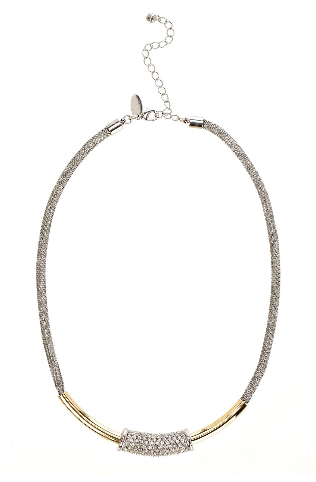 Coast Leila necklace, Silver