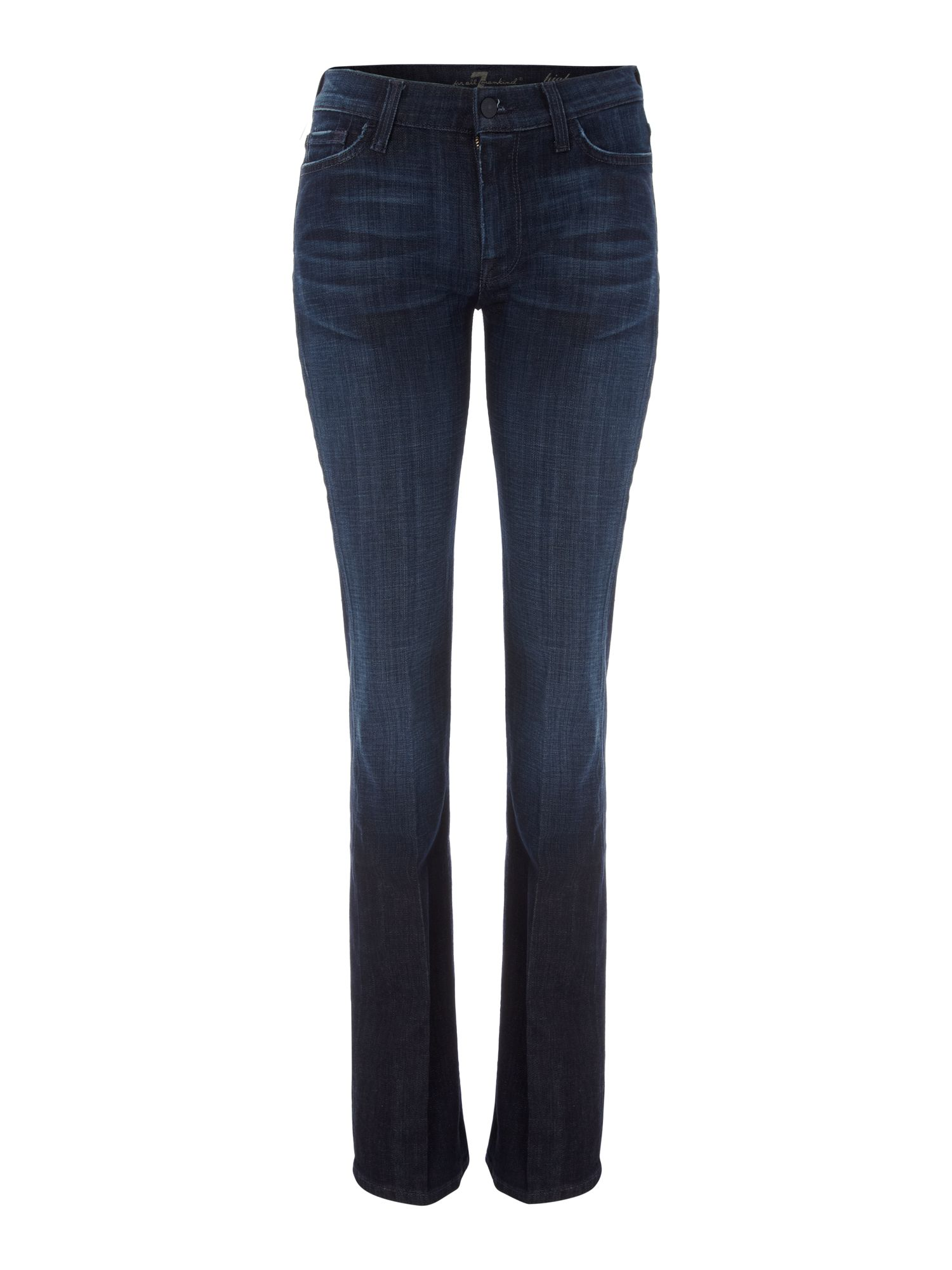 High-waist bootcut jeans in Los Angeles Dark