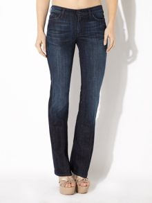 7 For All Mankind High-waist bootcut jeans in Los Angeles Dark
