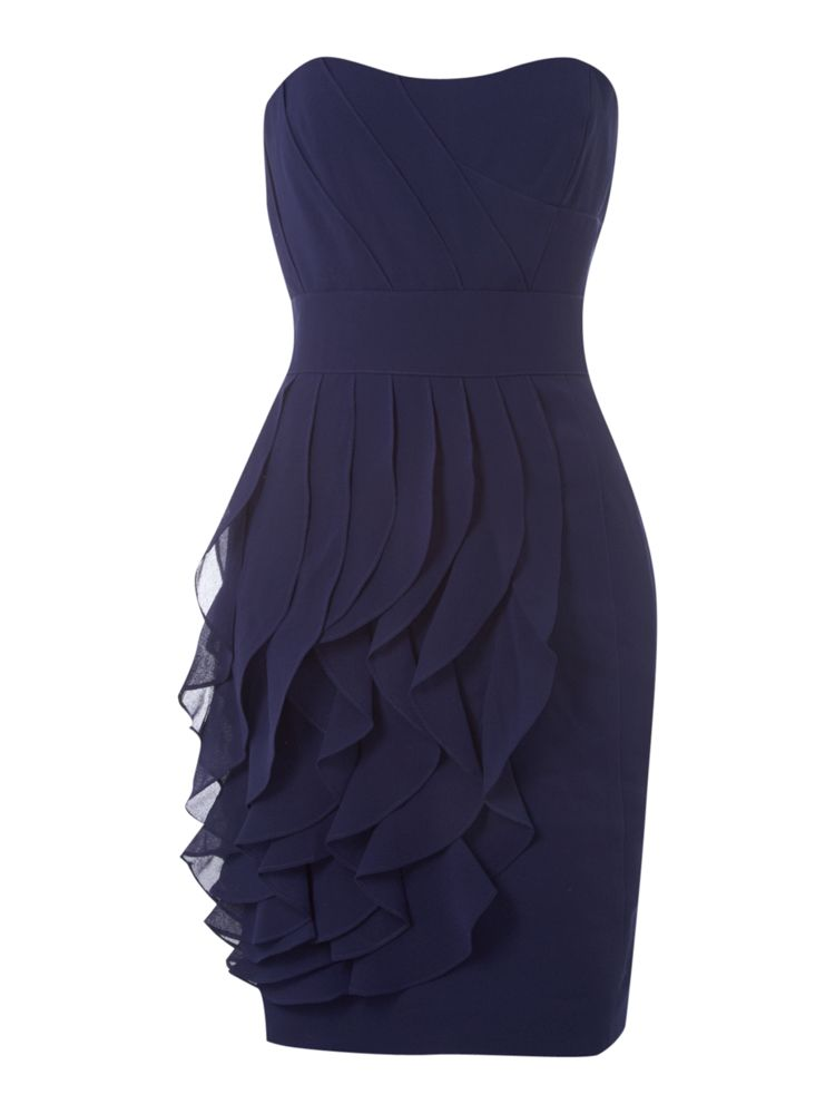 Untold-Sweetheart-Neckline-Ruffle-Front-Dress-In-Royal-Blue