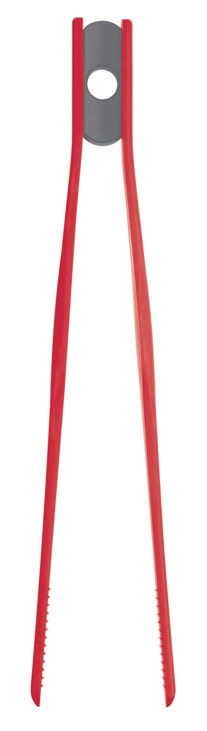 Colourworks red tweezer tongs
