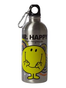 Mr Men Mr Happy water bottle