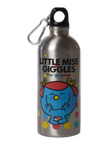 Mr Men Little Miss Giggles water bottle