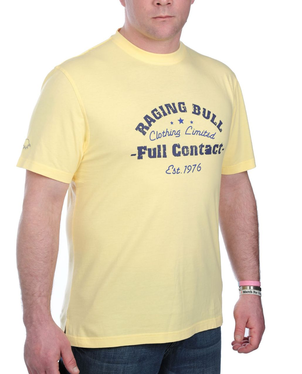 Raging Bull Full contact T-shirt - Lemon product image