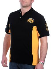Raging Bull Panel pique polo shirt
