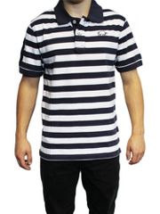 Raging Bull Double Stripe polo shirt