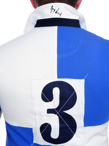 Raging Bull Harlequin Rugby Shirt