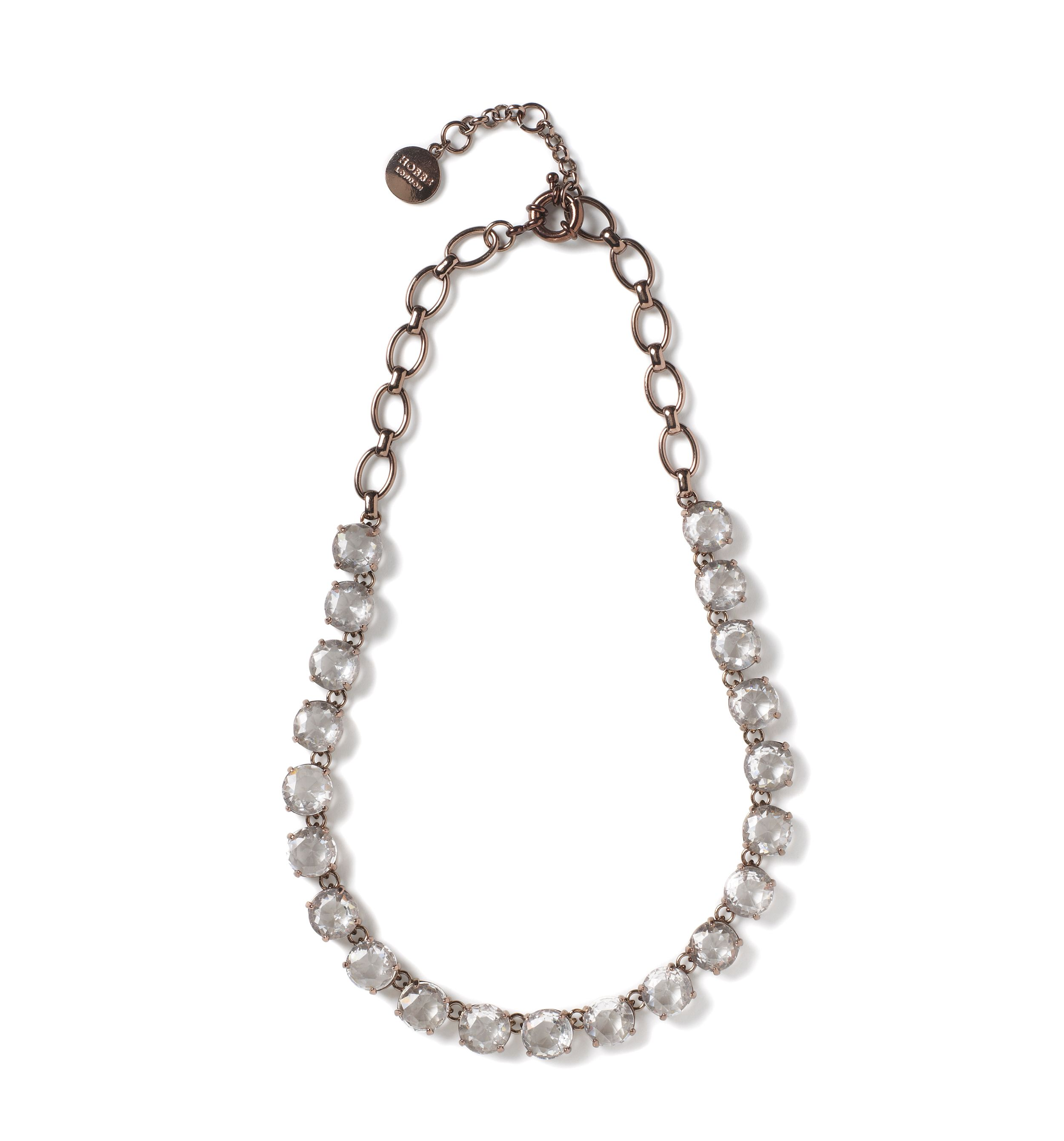 Hobbs Lexington necklace, Grey