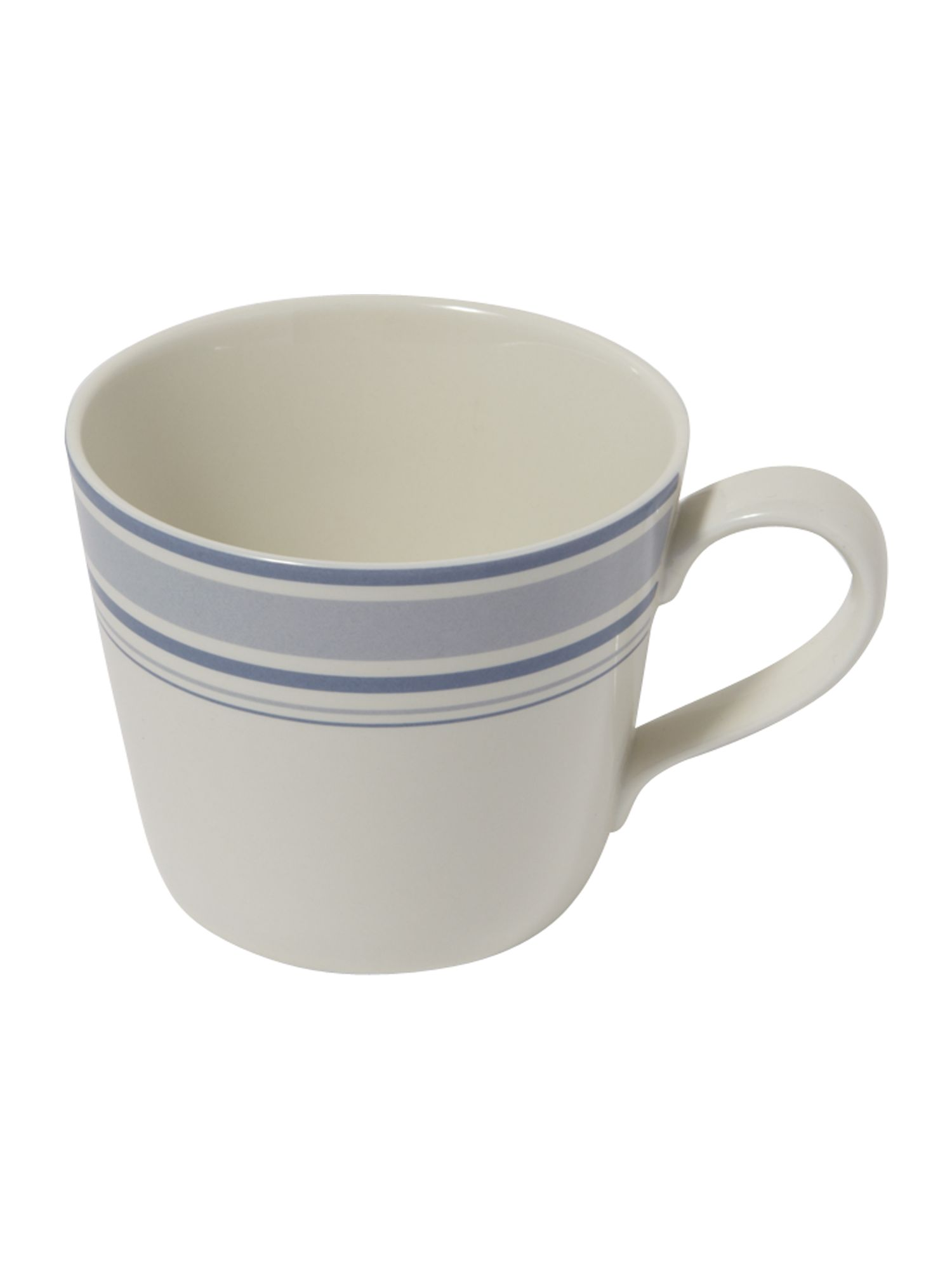Ribbon stripe mug