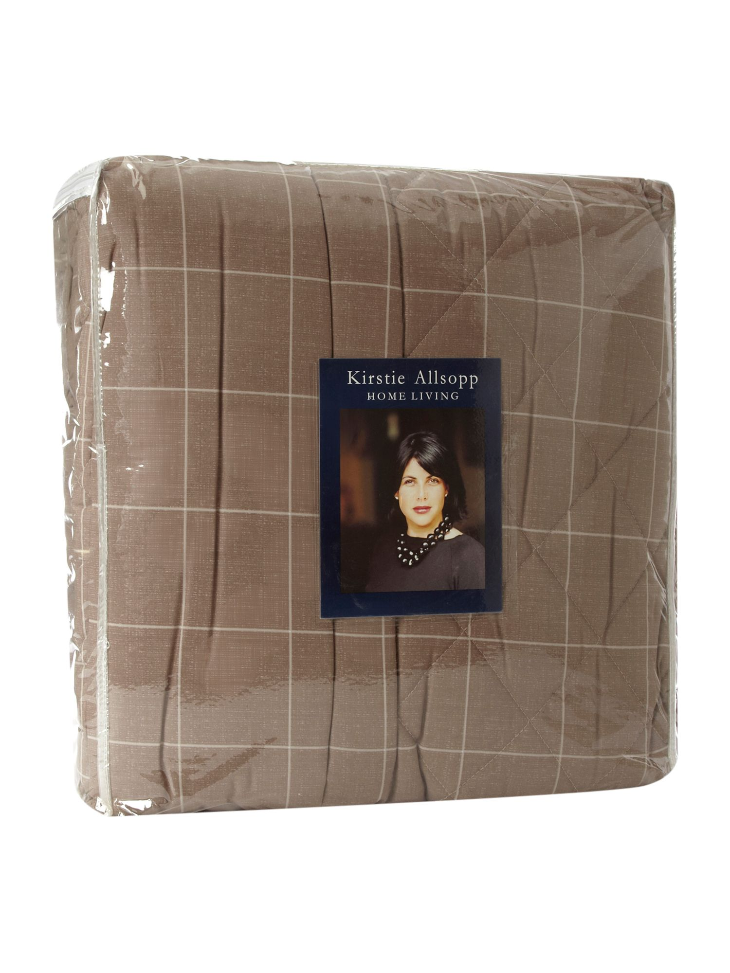 Meredith quilted bed throw