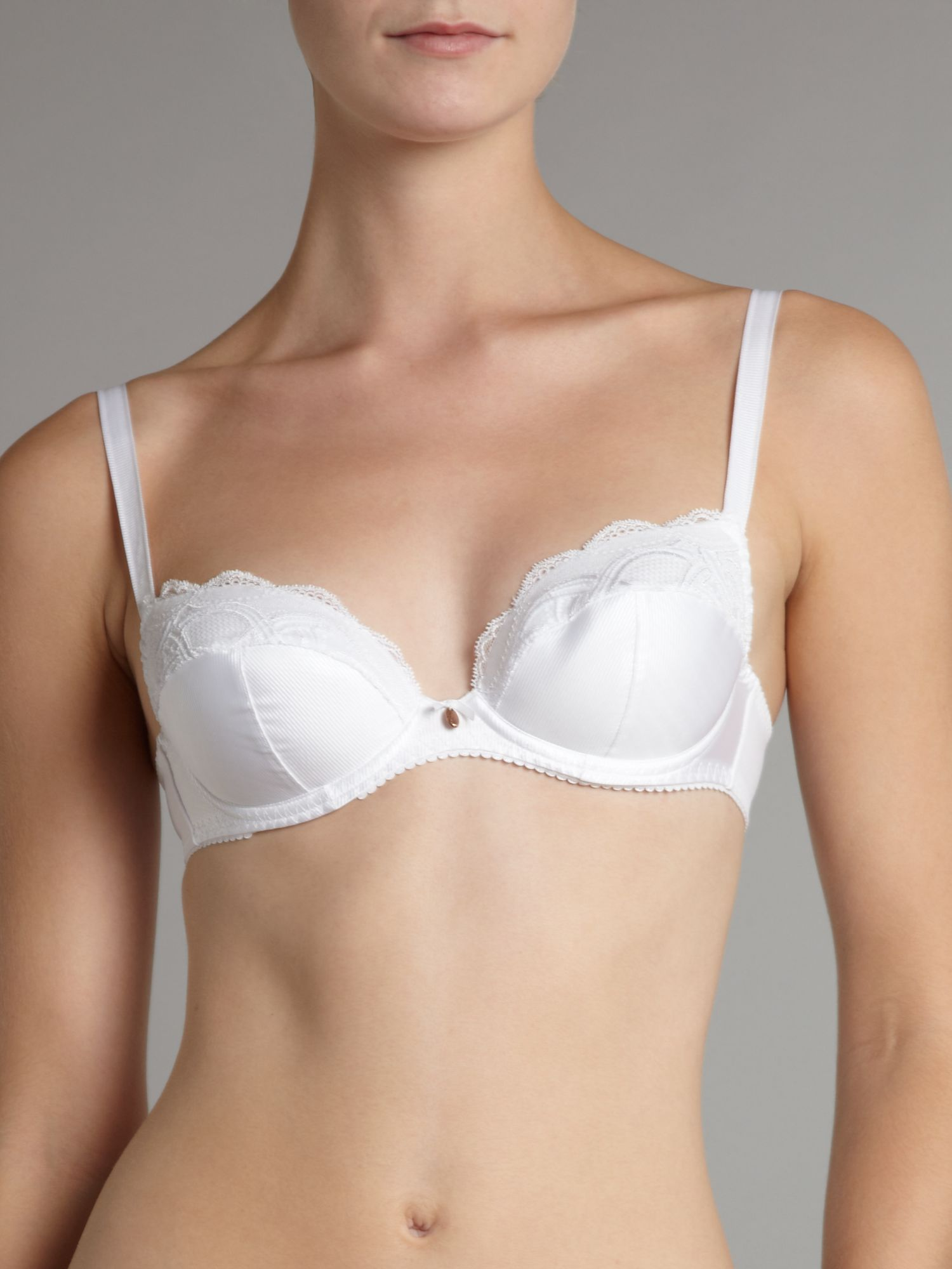 Entrelacs 3 section balconette bra