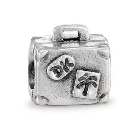 Pandora Sterling Silver Suitcase Charm