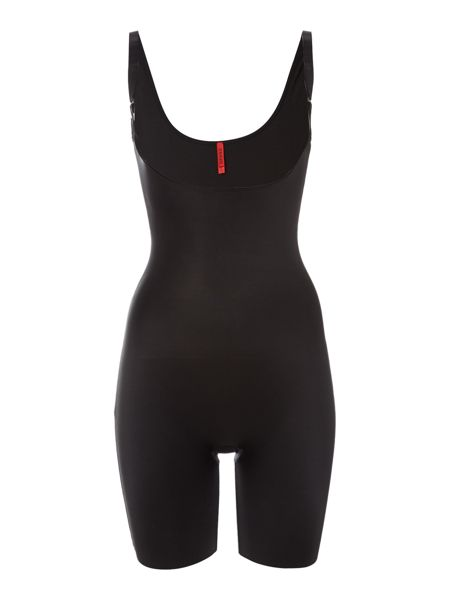Spanx Slimplicity open bust mid thigh bodysuit