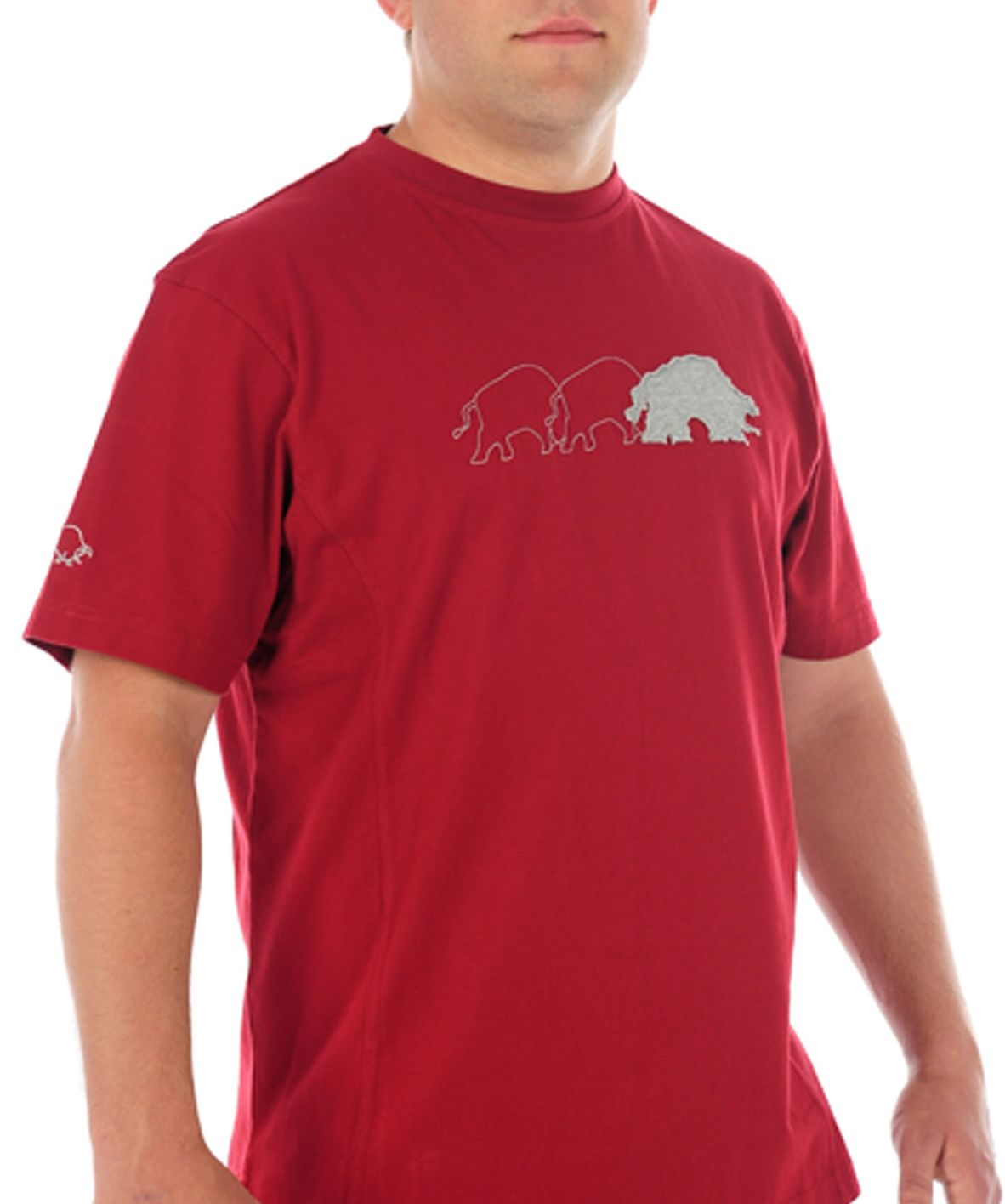 Raging Bull Stampede T-shirt, Wine 155396897 product image