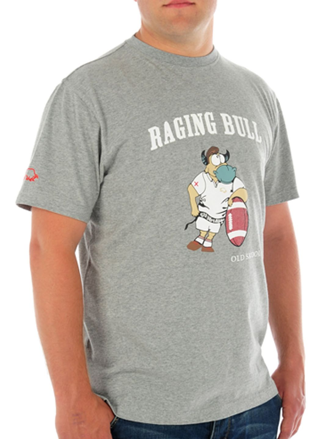 Raging Bull Old skool bull T-shirt, Grey 155396994 product image