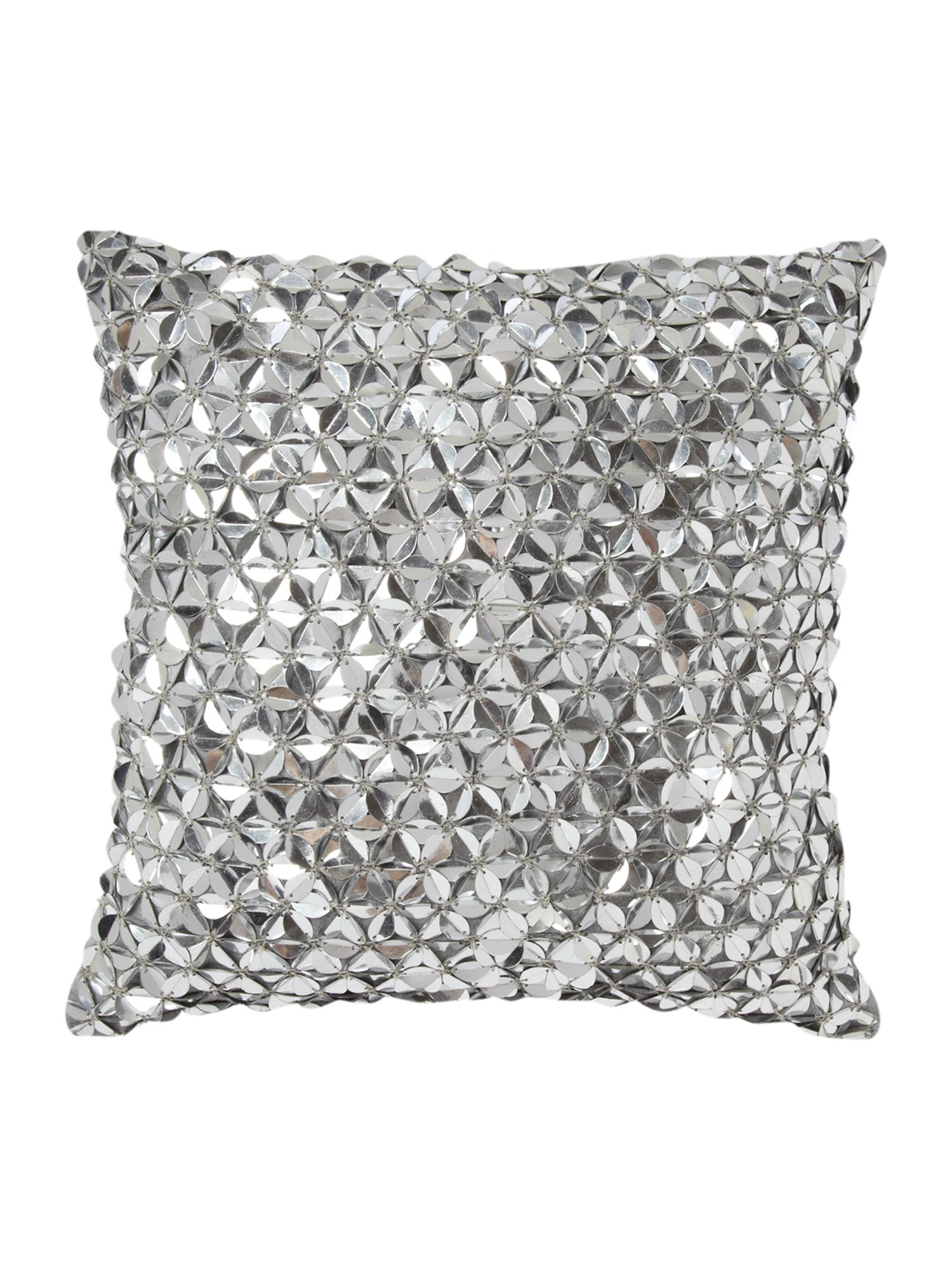 Zelda cushion silver