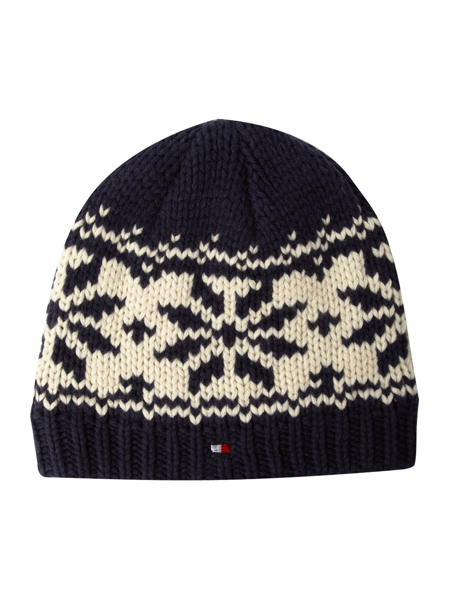 Fairisle mini hat