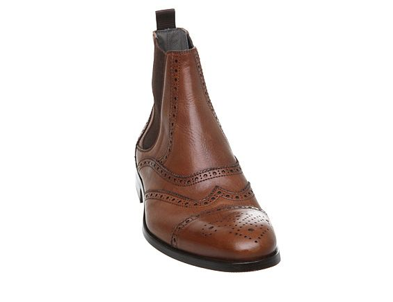 Carriage chelsea boot