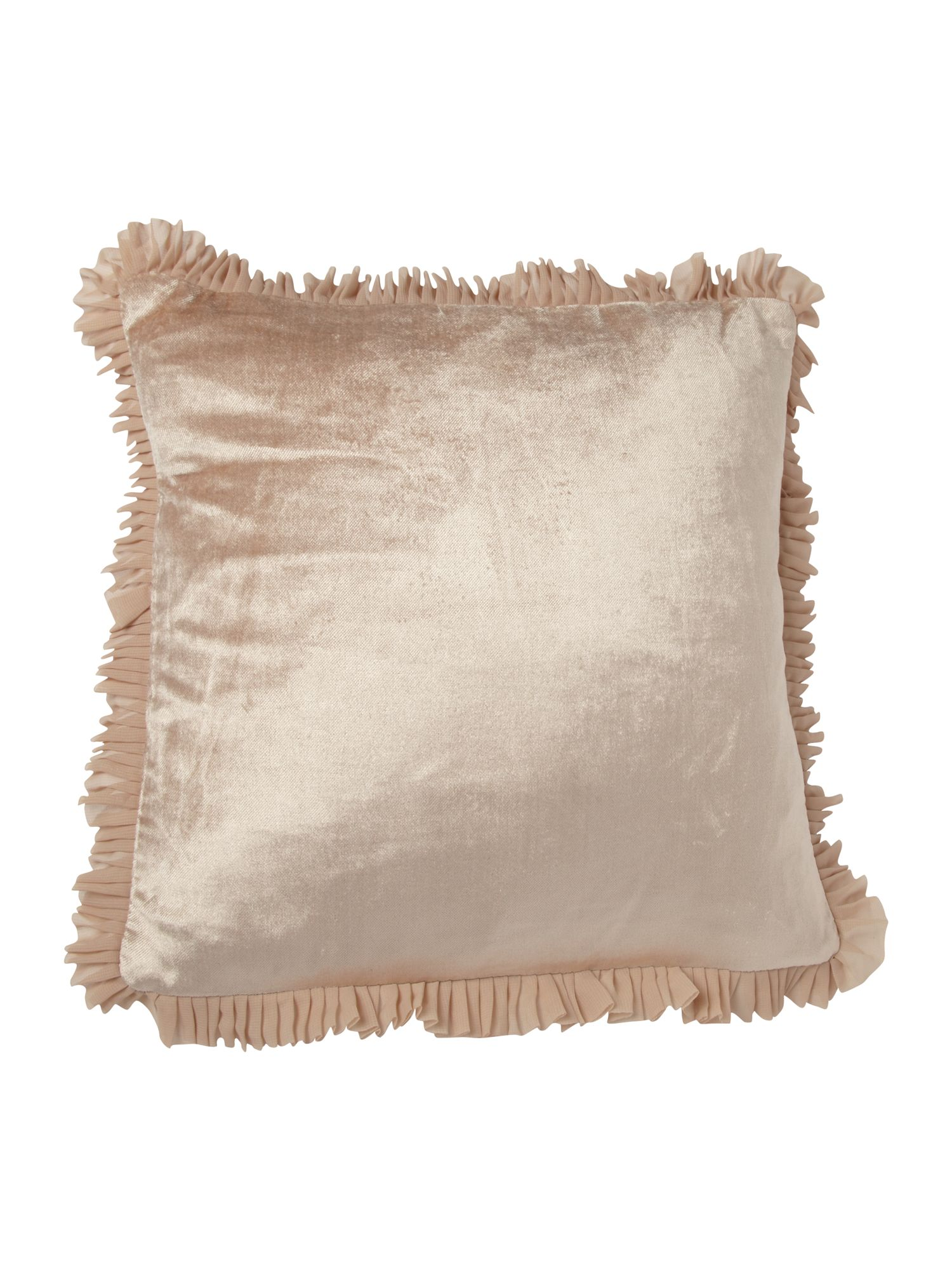 Romana cushion champagne