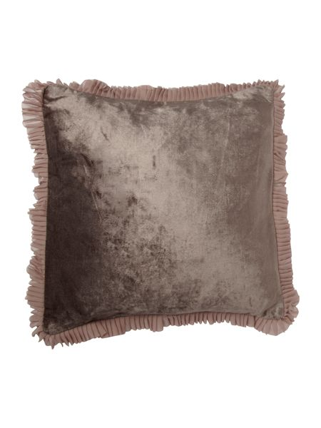 Kylie Minogue Romana cushion kitten grey