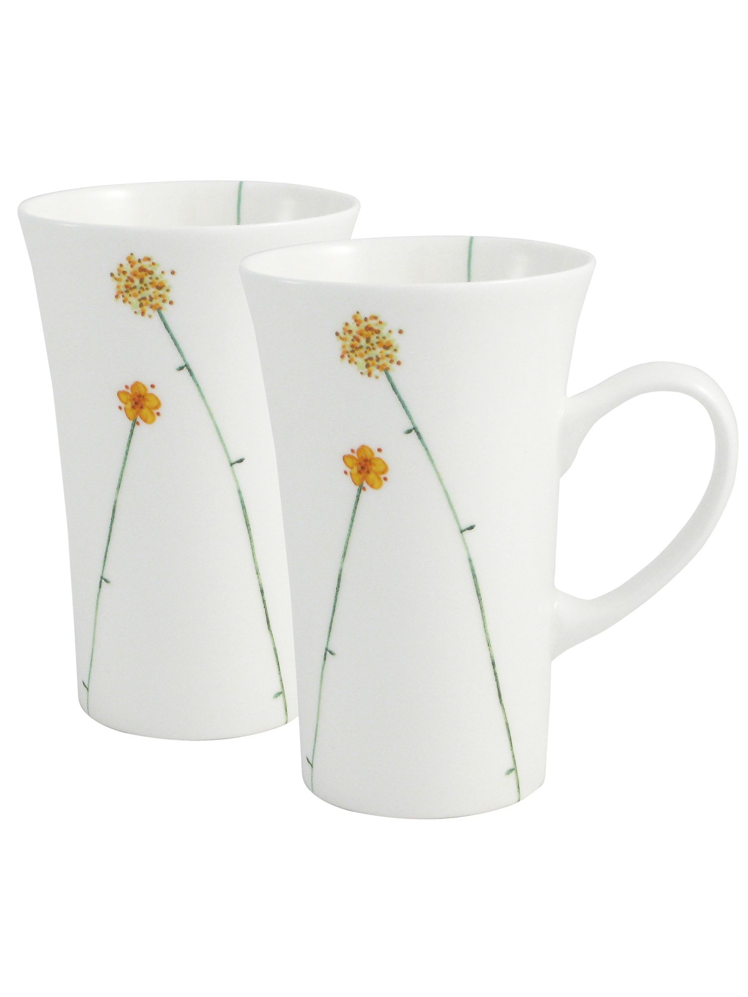 Aynsley Aynsley Daisychain two latte mugs