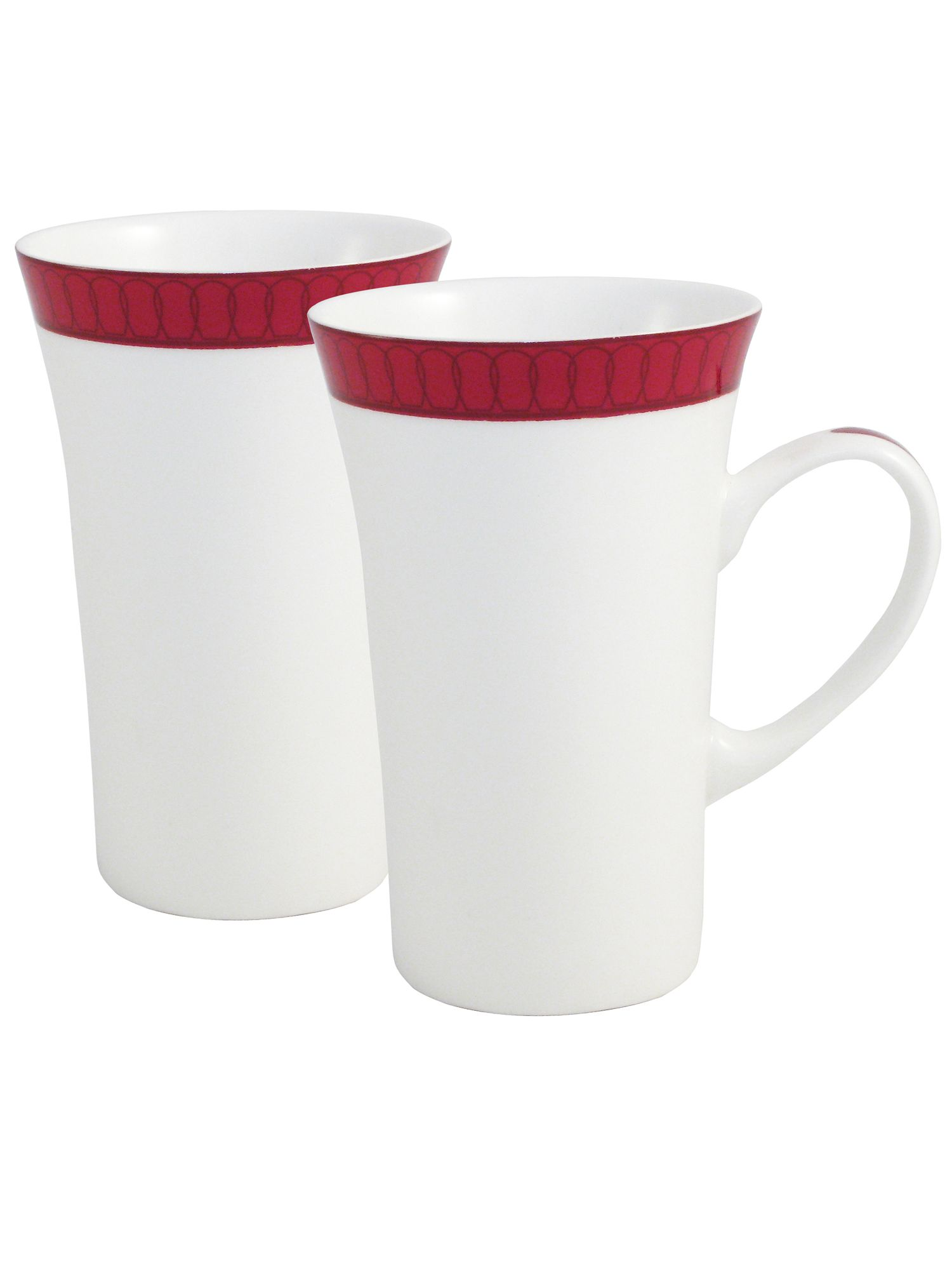 Aynsley Aynsley Madison two latte mugs