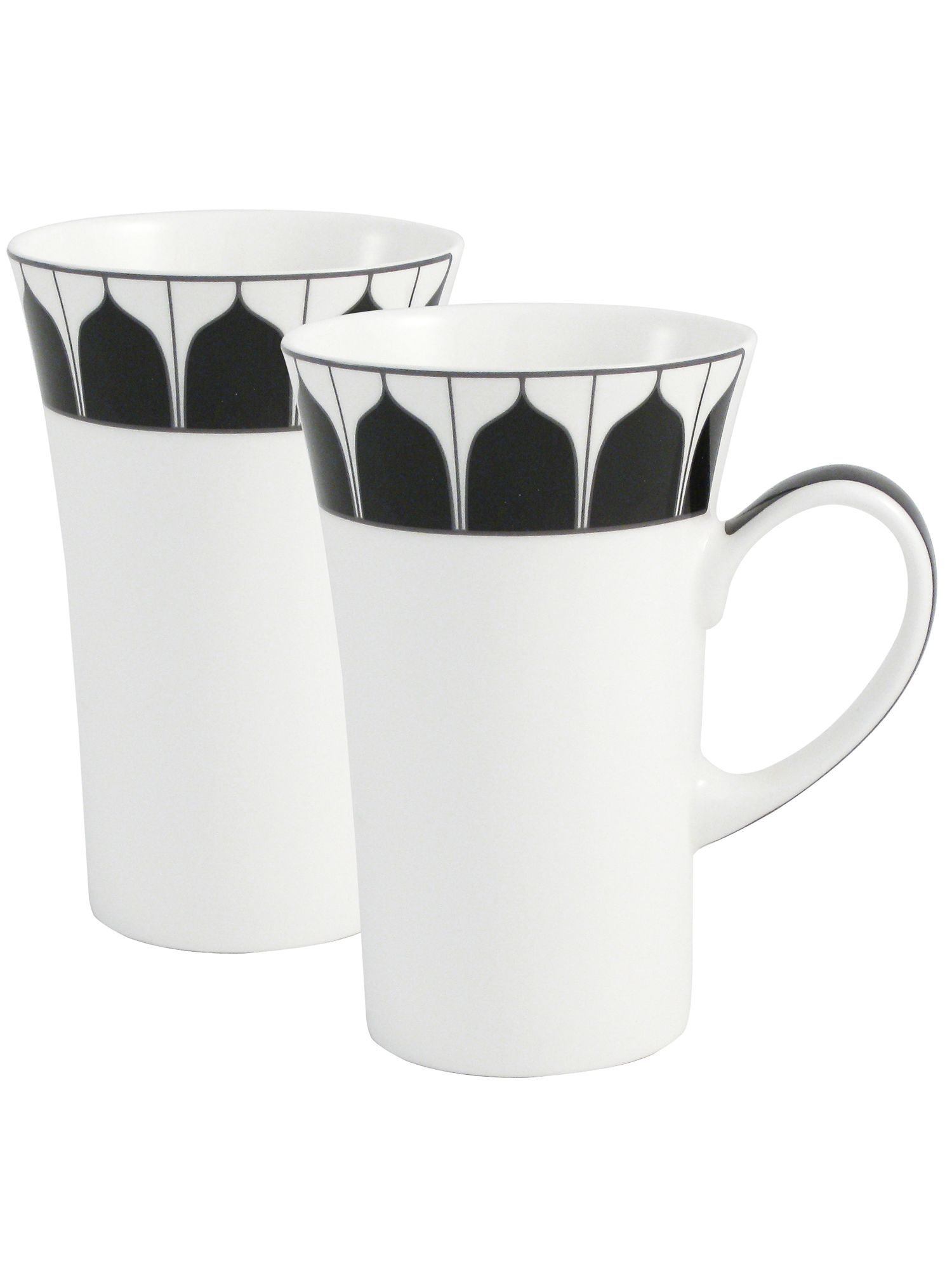 Mozart two latte mugs