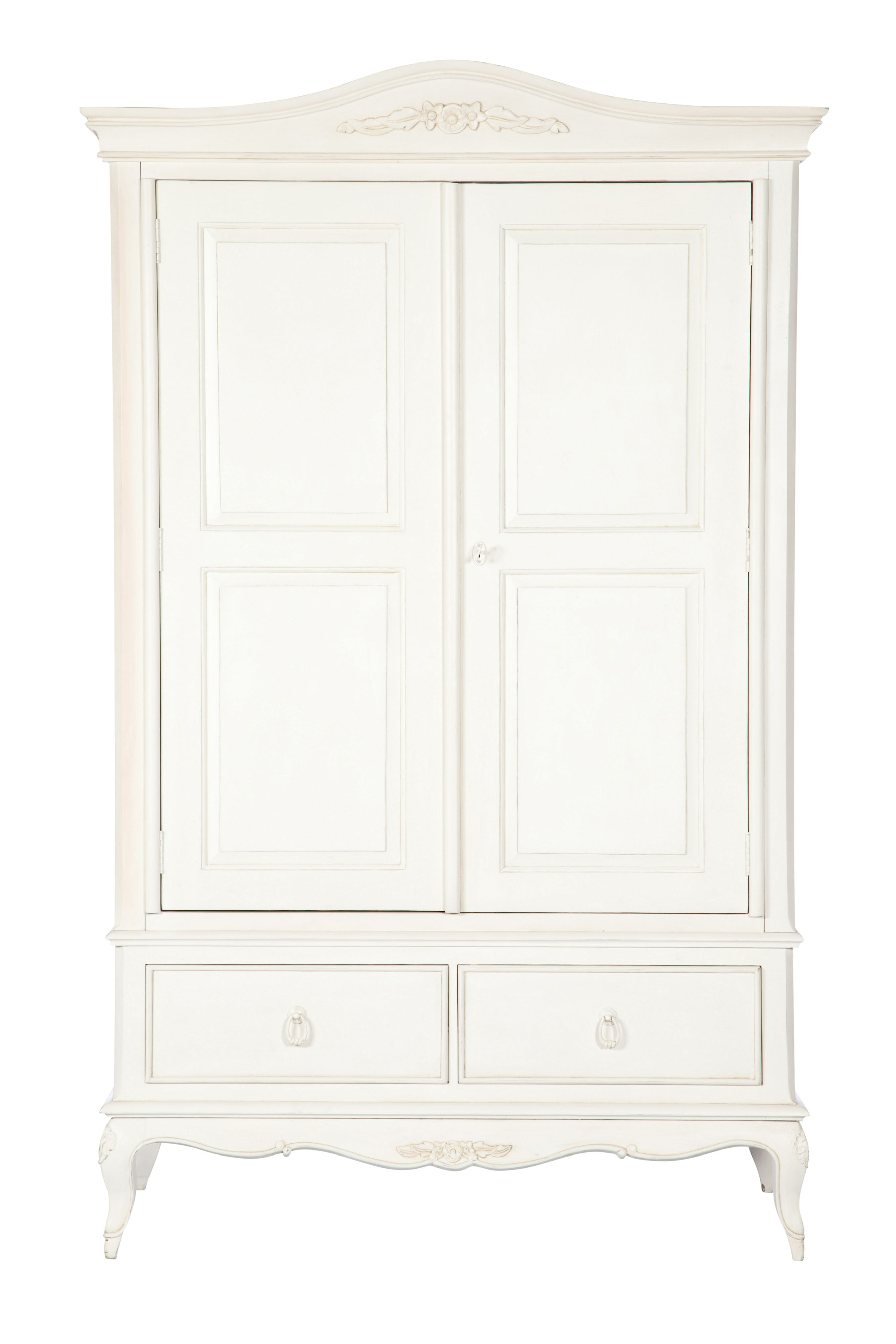 Primrose Double Wardrobe With Drawers