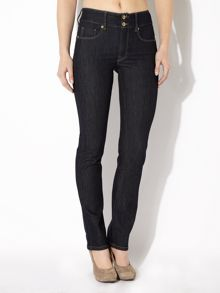 Secret Push-In slim jeans in Rinse