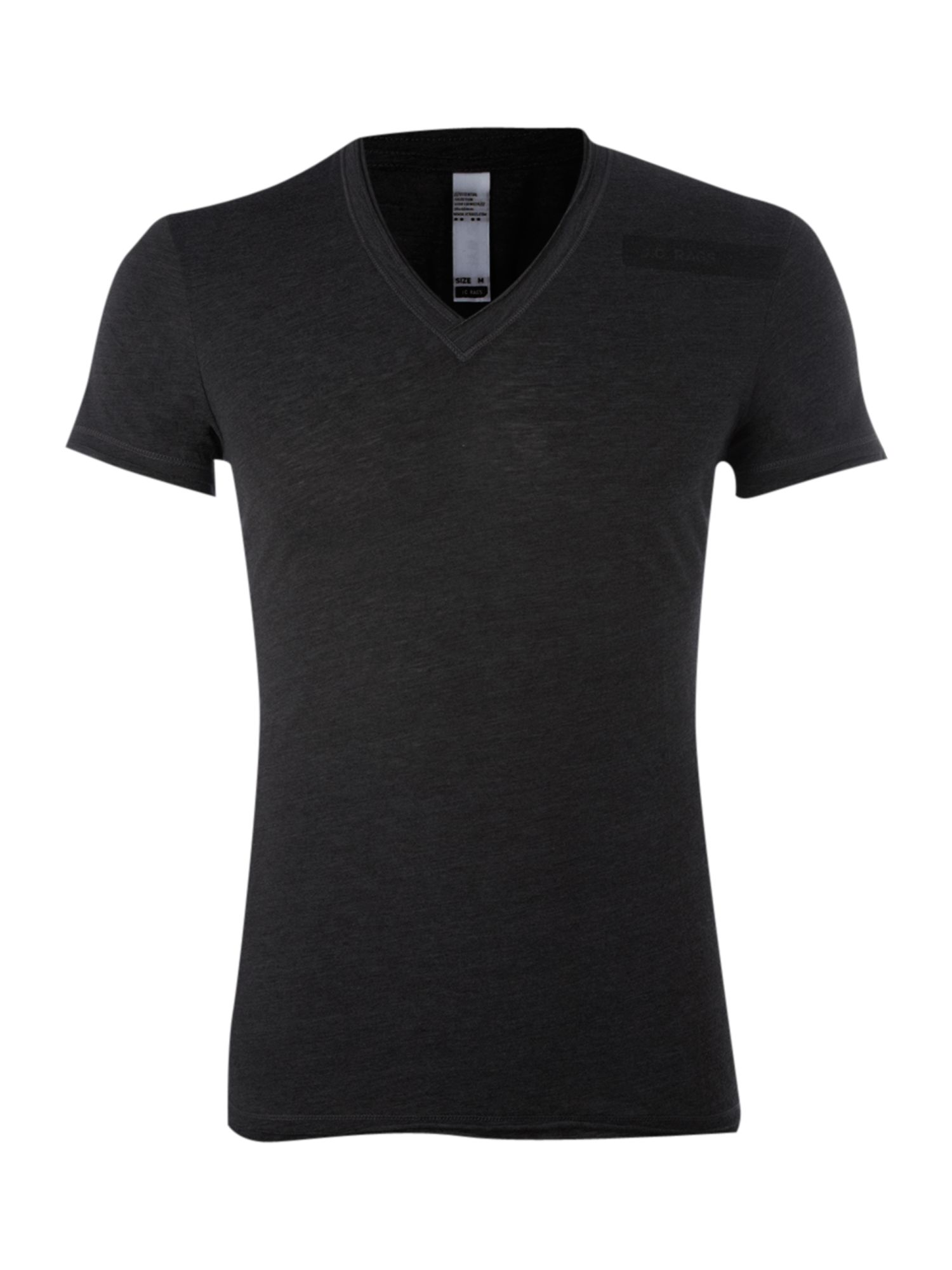 JC Rags Mens JC Rags Washed V-neck T-shirt, product image