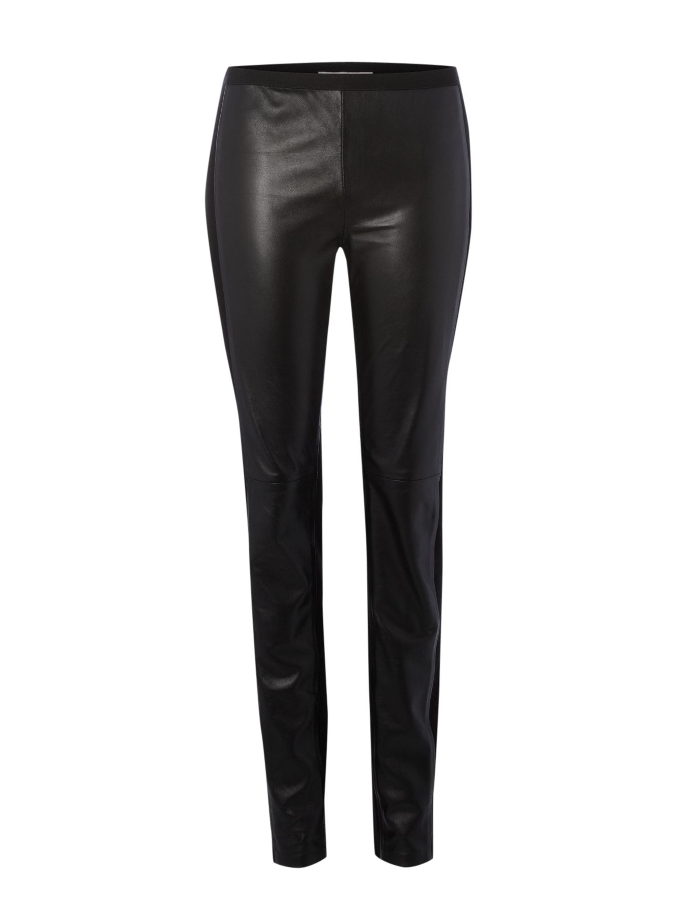 Skinny leather trouser