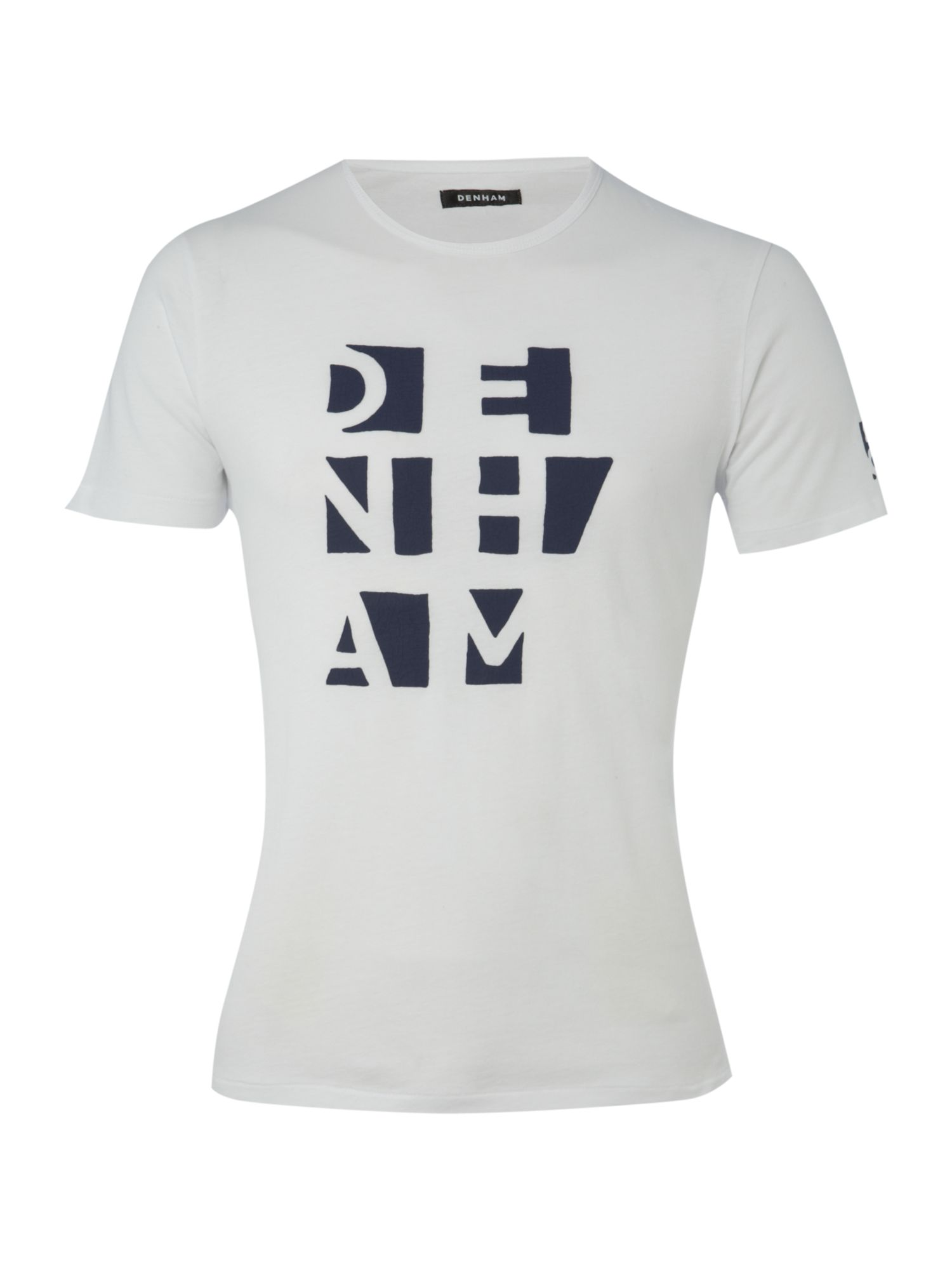 Denham Mens Denham T-shirt, Blue 156516979 product image