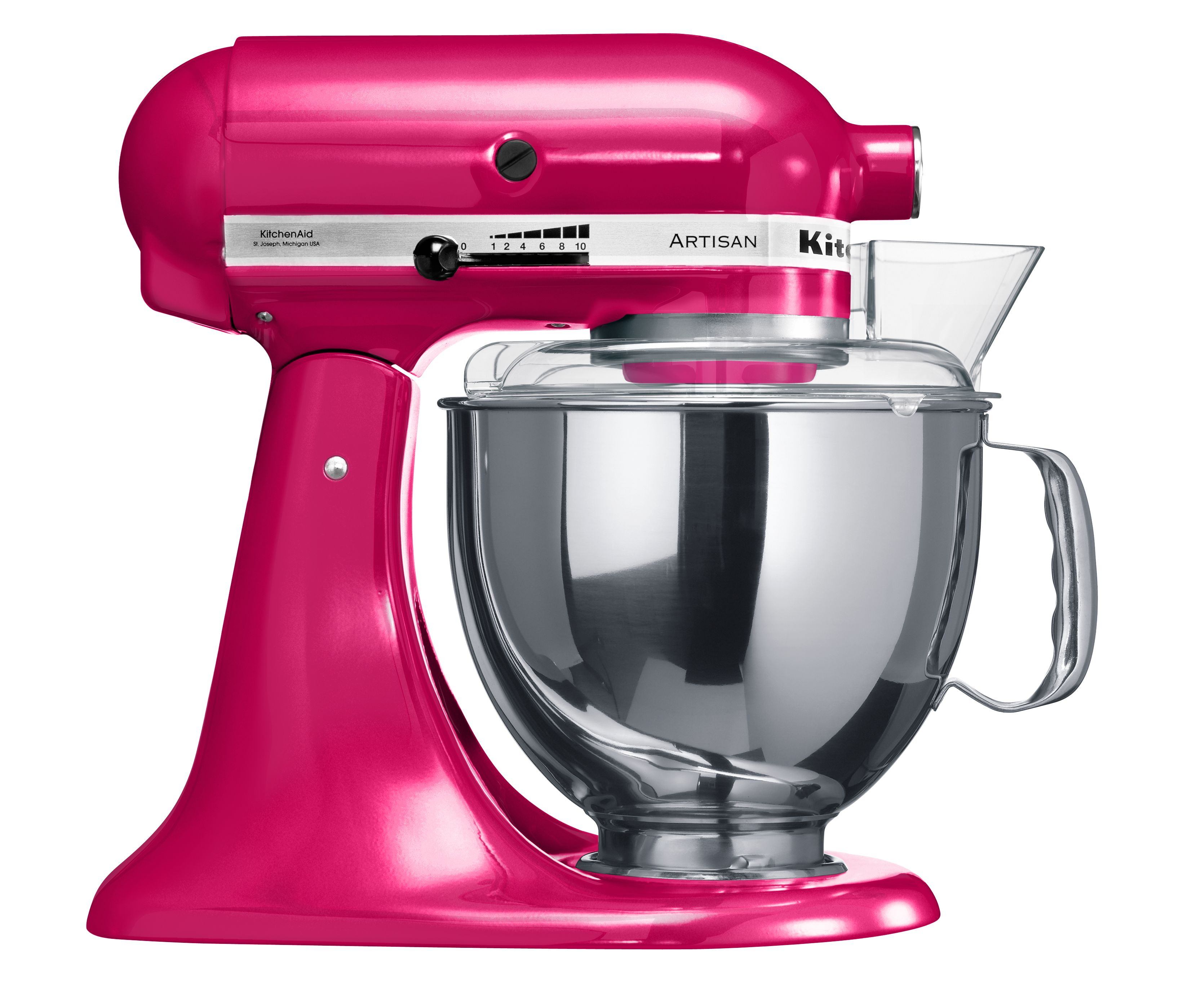 Artisan Raspberry Ice Stand Mixer