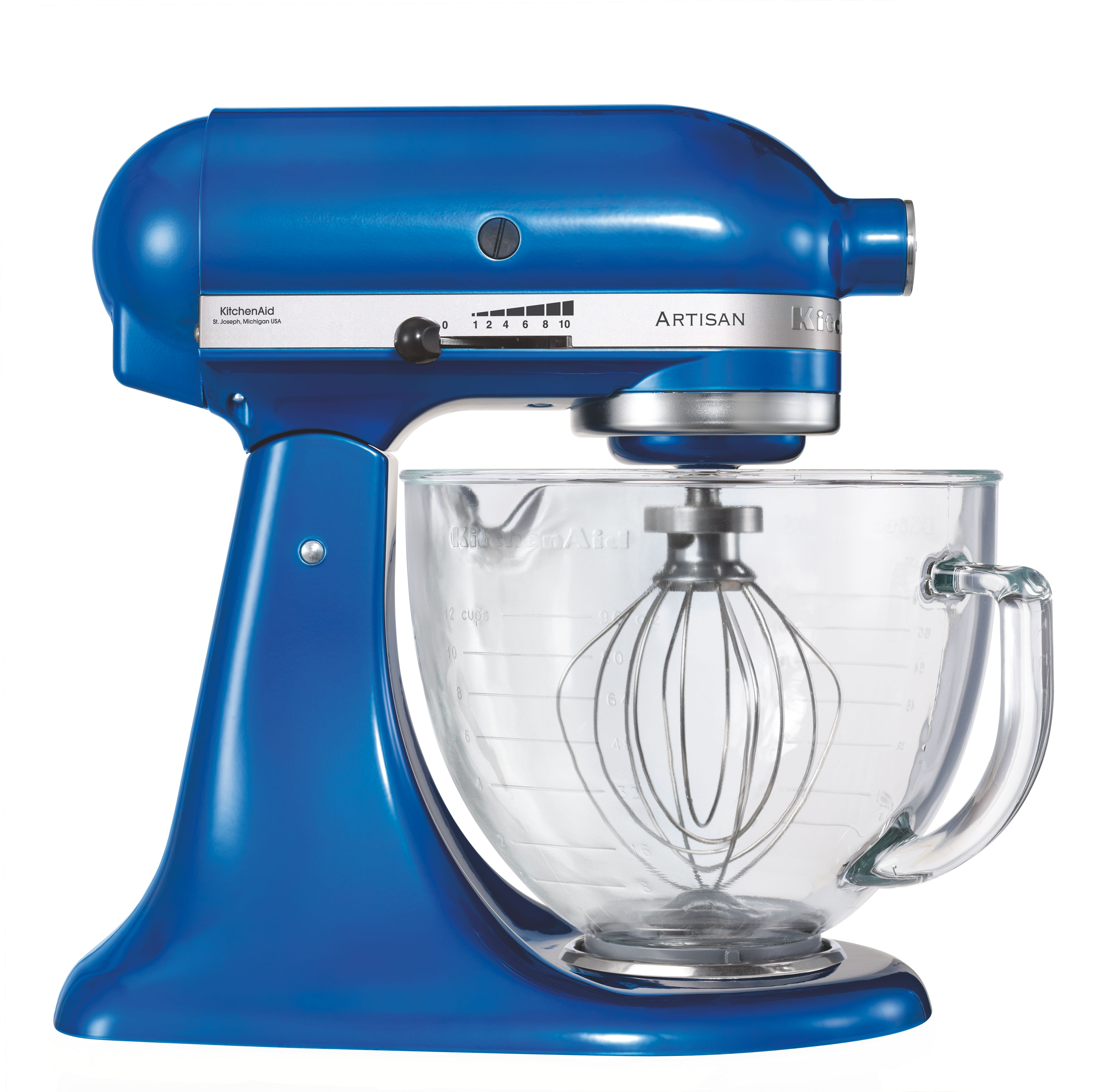 Artisan Electric Blue Stand Mixer
