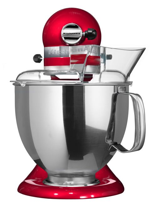Artisan stand mixer candy apple 5KSM156BCA